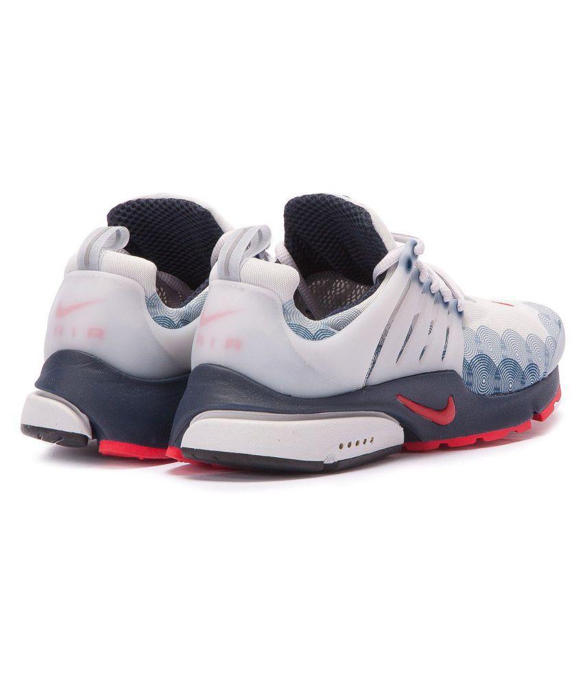 1f8dc3f82bb Nike Air Presto U.S.A White Running Shoes - Buy Nike Air Presto ...