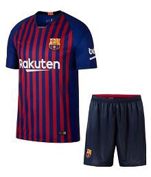 Quick View. Barcelona Home Football Jersey With shorts ... 4316d3e890a0e
