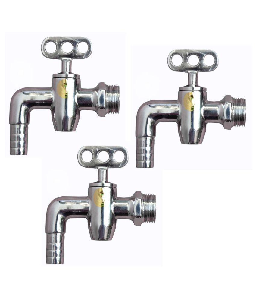 Buy SSS - Nozzle Taper Bucket Filler Tap Set of 3 Pcs Online at Low ...