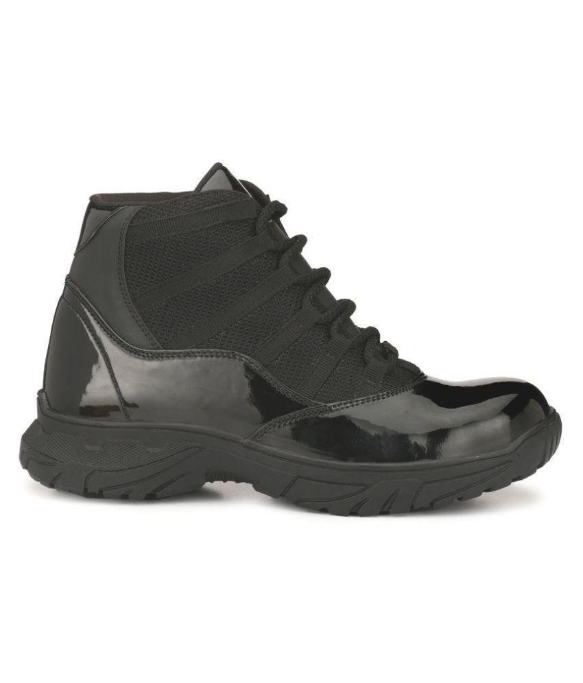 Udenchi Black Safety shoes - Buy
