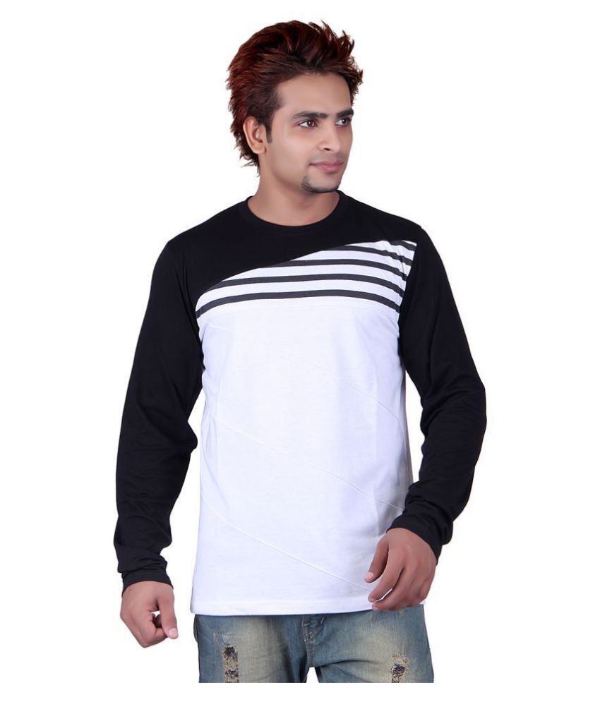 Vivid Bharti Multi Round T-Shirt