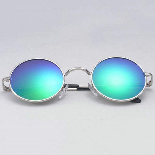 Swagger 4 Colors Summer Women Men Hippie Sunglasses Round Mirror HD Polarized Glasses 04SGS03844 Sold by ZXG
