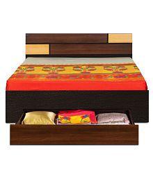 Buy Grande King Box Bed Quality Wooden Bedroom Furniture Godrej