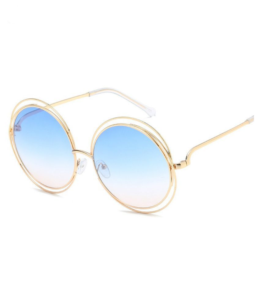 Swagger Round Frame Sunglasses Sunglasses Bv6049b True Sunglasses Flat Mirror Film Sold by ZXG