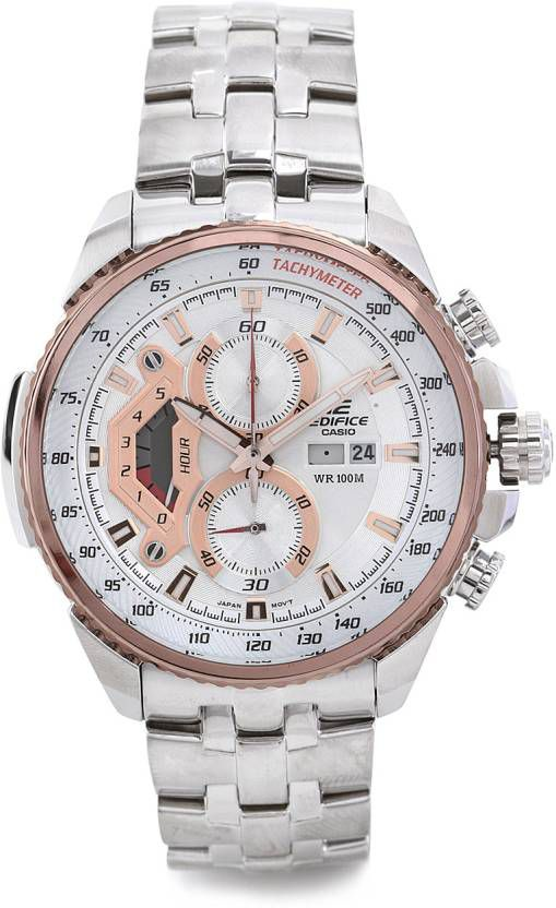 Casio Edifice Chronograph EF-558D-7AVDF (ED438) Men s Watch - Buy Casio  Edifice Chronograph EF-558D-7AVDF (ED438) Men s Watch Online at Best Prices  in India ... b663dd64a9