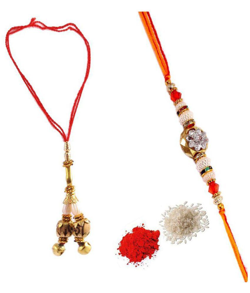 Gunnu Multicolour Rakhi Set: Buy Gunnu Multicolour Rakhi ...
