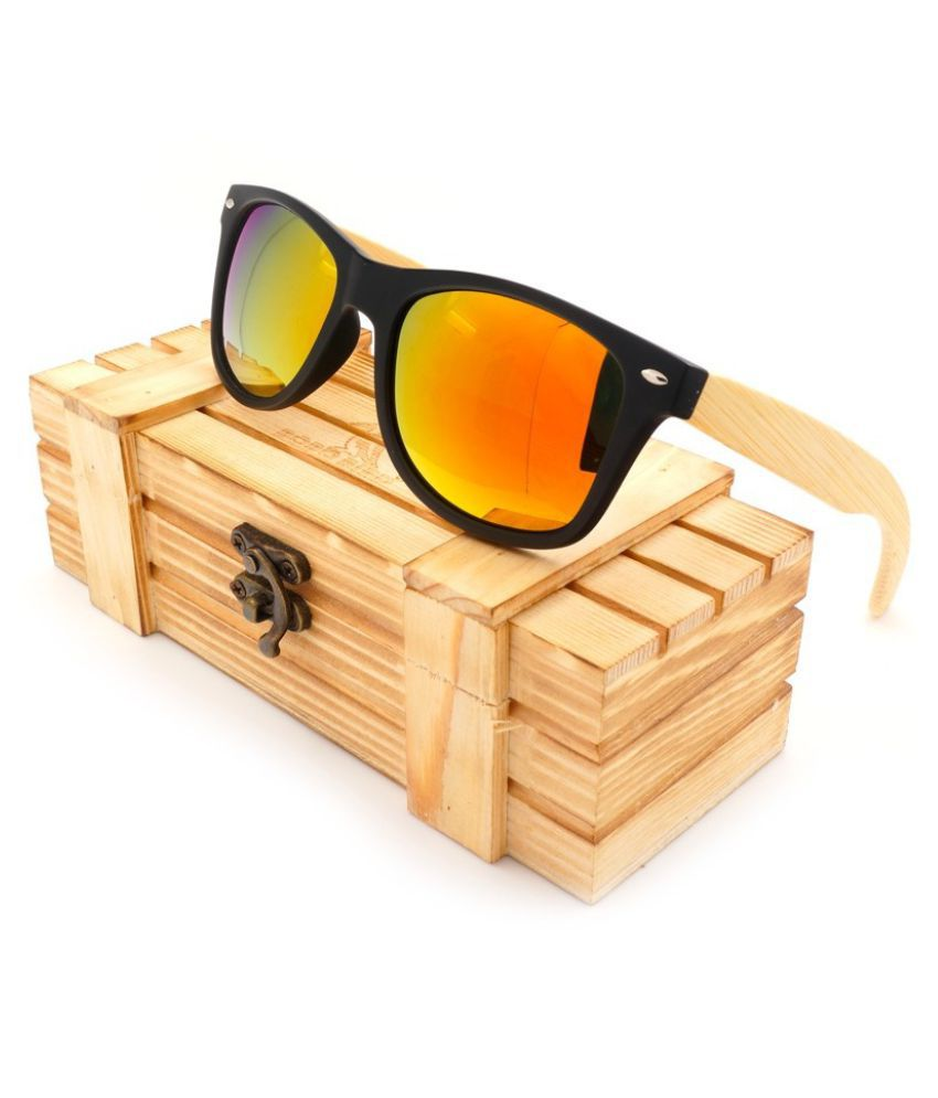 Swagger BOBO BIRD Top Brand Unisex High Quality Sunglasses With Bamboo Legs Mirrored Polarized Summer Beach Travel Eyewear