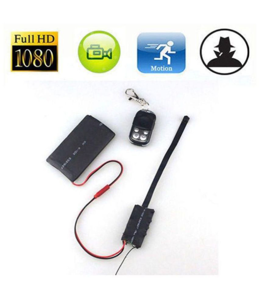 Remote Control 1080P HD Hidden SPY Camera USA/EU Plug Charger Nanny