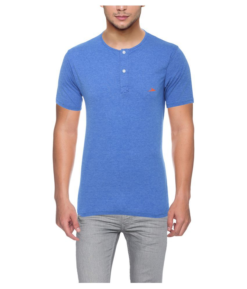 PRO Lapes Blue Half Sleeve T-Shirt Pack of 1