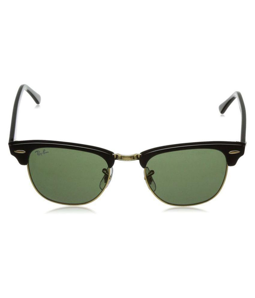 2d90176da9 Buy RAY-BAN RB3016 UV PROTECTED UNISEX CLASSIC CLUBMASTER SUNGLASSES (RB3016