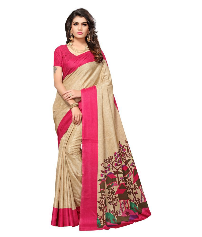 Aika Multicoloured Cotton Silk Saree