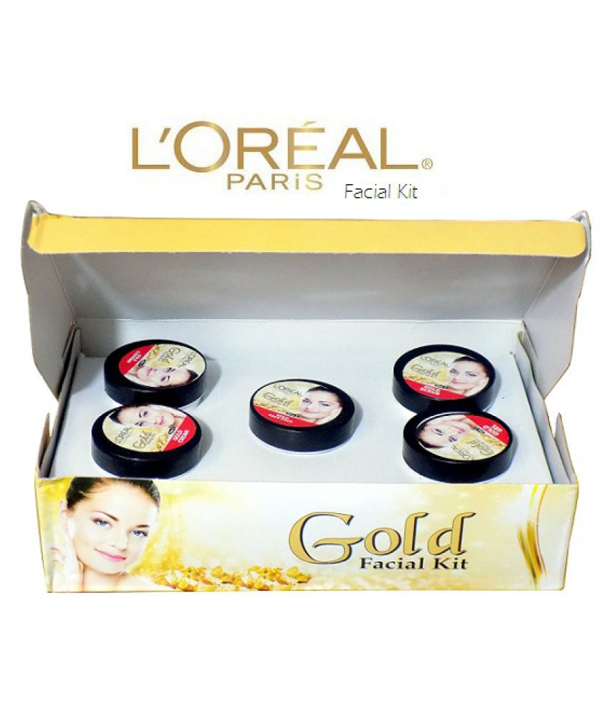 professional kit L'oreal Paris 24 Carat Gold Facial Kit 600 gm