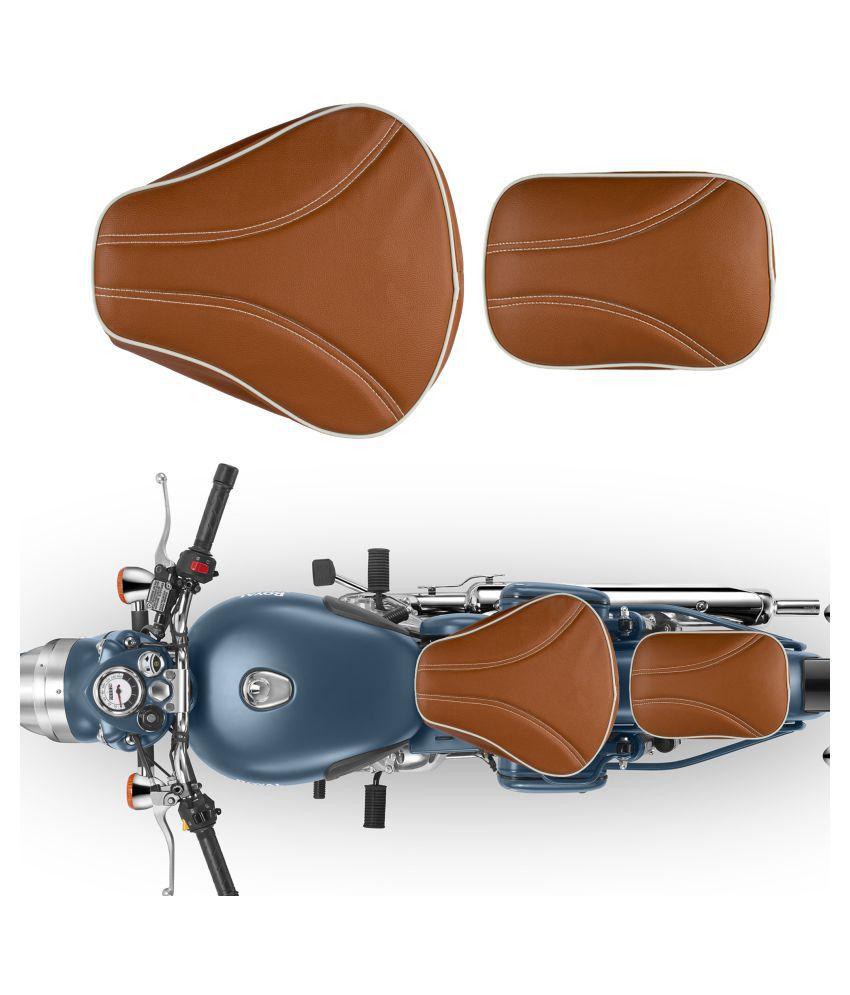 Astounding Autofy Seat Cover For Royal Enfield Bullet Classic All Models Black Spiritservingveterans Wood Chair Design Ideas Spiritservingveteransorg