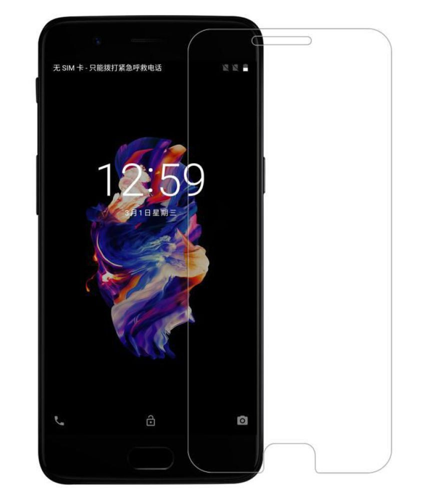 OnePlus 5 Tempered Glass Screen Guard By ABS & ABC