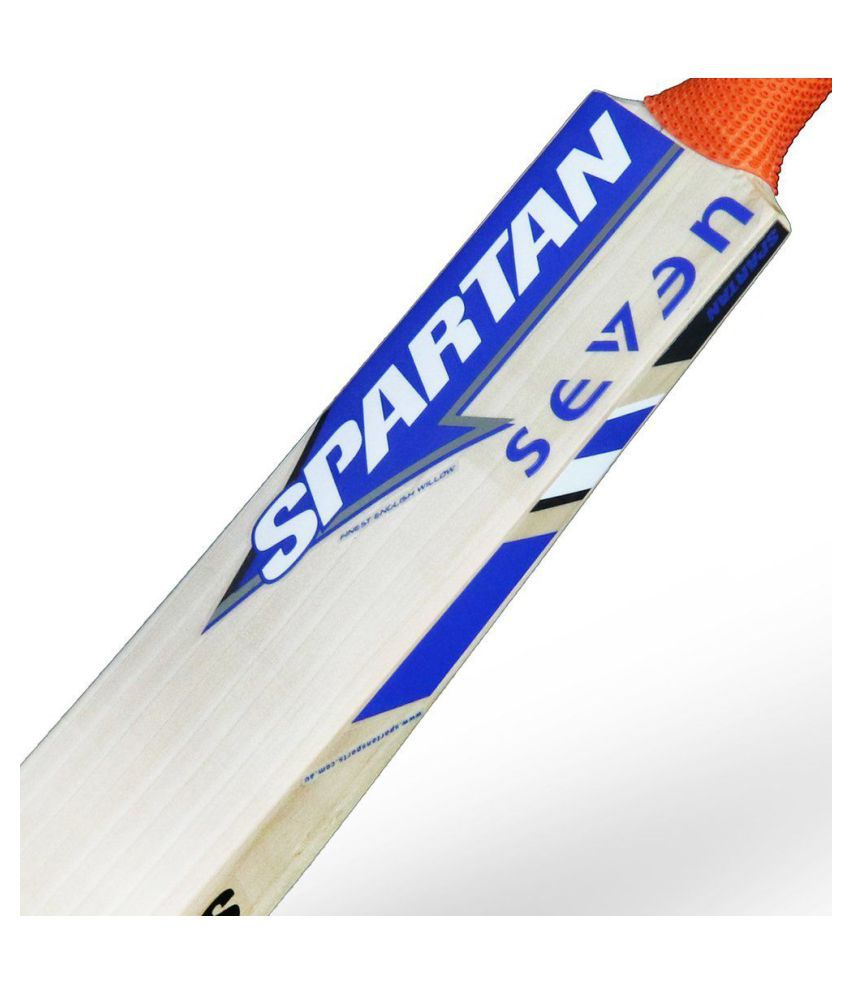 b4e11b0a8 Bogan-Spartan Seven English Willow Cricket Bat  Buy Online at Best Price on  Snapdeal