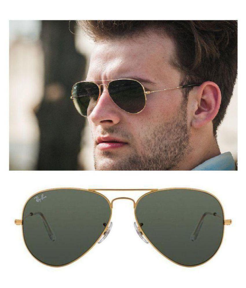 Ray Ban Aviator Black Aviator Sunglasses Rb 3025 56 14