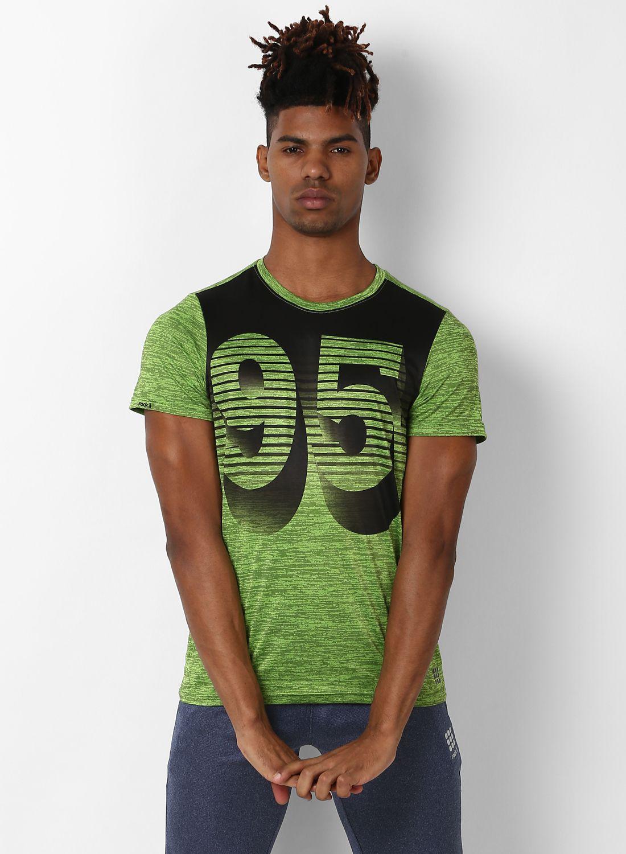 Rock.it Green Half Sleeve T-Shirt