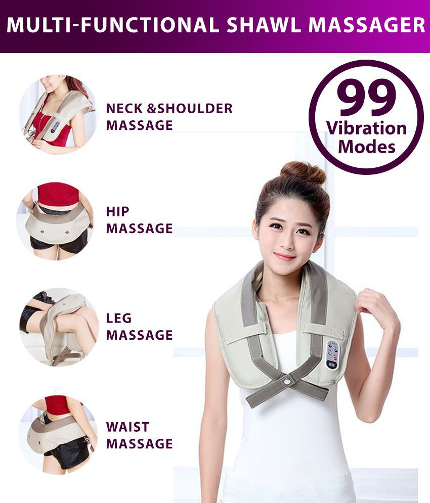 Multi-functional Body Massager For Deep Tissue Relief With Power Drum Massage
