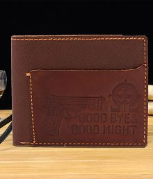 Royal Enfield Leather Brown Casual Regular Wallet