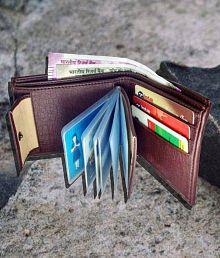 Woodland lander Leather Brown Fashion Regular Wallet