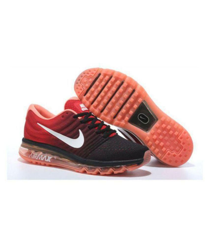best service 5a8ba 8f700 Nike AIRMAX 2017 ORANGE Orange Running Shoes