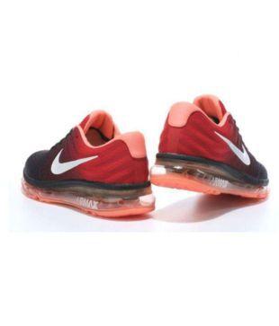 newest 71aeb 87242 Nike AIRMAX 2017 ORANGE Orange Running Shoes - Buy Nike ...