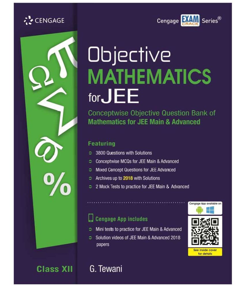 Objective Mathematics for JEE Class XII