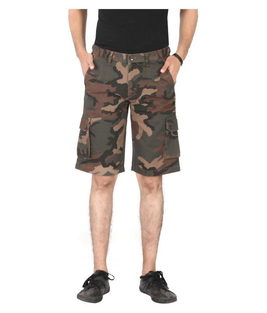 Pecos Bill Green Shorts
