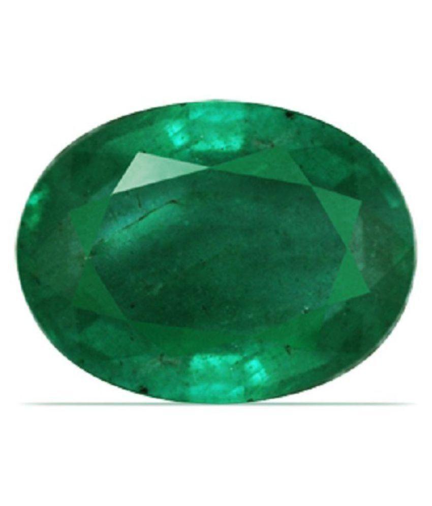 SPIRITUALCART 6.25 -Ratti IGL Green Emerald Precious Gemstone