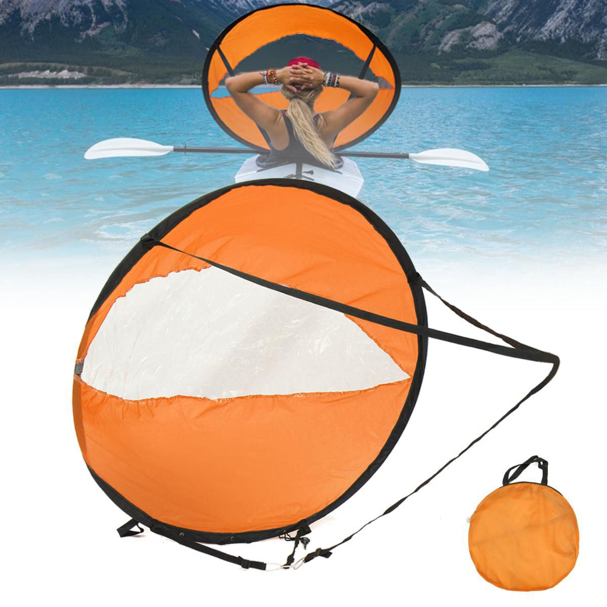 42/'/' Foldable Kayak Boat Wind Sail Sup Paddle Board Sailing Windpaddle Sailboat