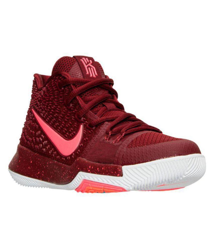 307ae5c4915f Nike KYRIE 3 IRVING Maroon Basketball Shoes - Buy Nike KYRIE 3 ...