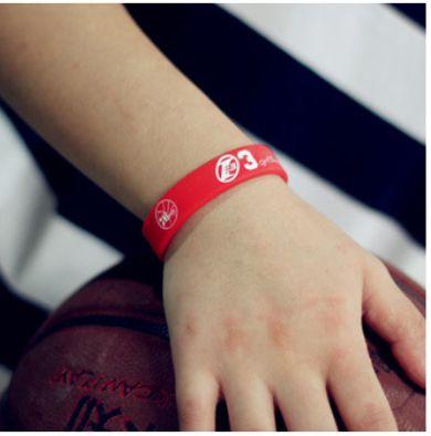 Simple Fashion OL Silica Gel Large Number Bracelet Wrist Strap Silicone Bracelet U Pick
