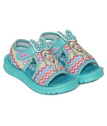 fca2de4b25bb Quick View. BARBIE KIDS GIRLS SEA GREEN SANDALS
