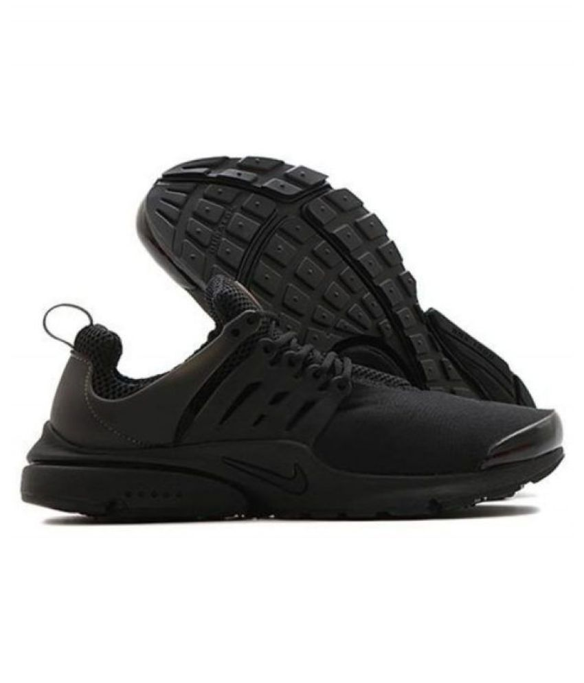 new style 55338 98014 Nike Presto Flyknit Black Running Shoes - Buy Nike Presto Flyknit Black  Running Shoes Online at Best Prices in India on Snapdeal