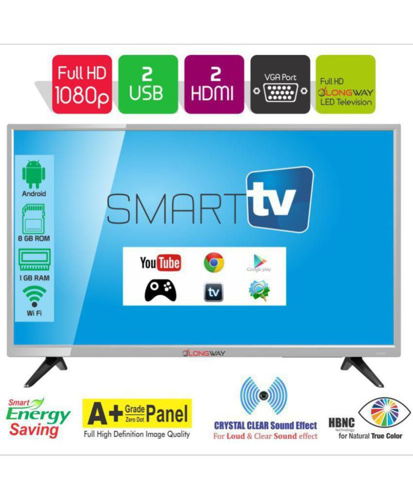 LONGWAY S7000 80 cm (32) Smart Android Full HD (FHD) LED Television