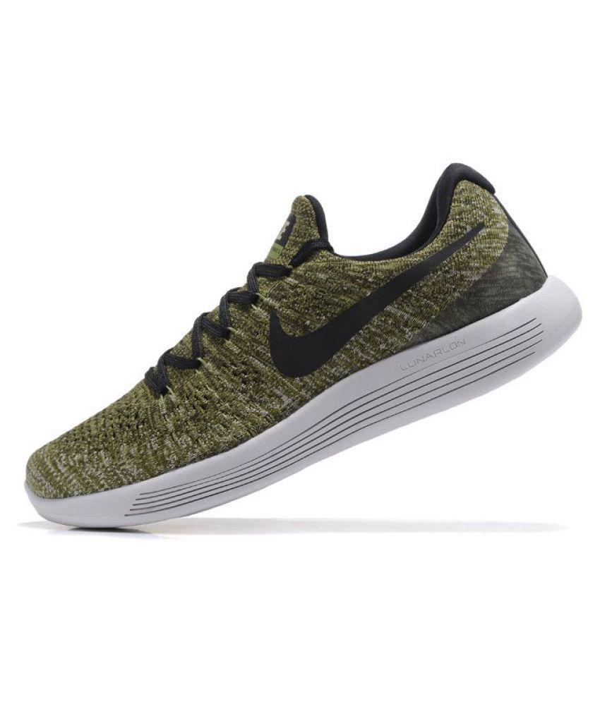 best sneakers c7751 cbf76 Nike LunarEpic Low Flyknit 2 Khaki Running Shoes