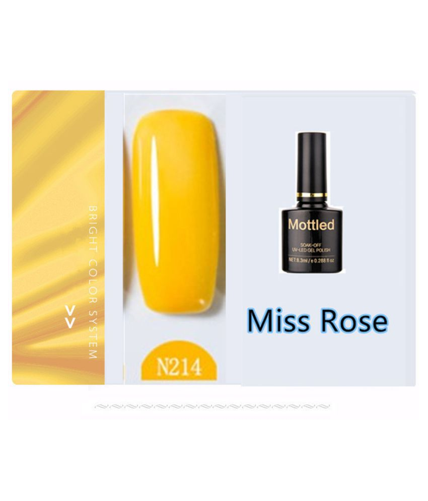 Miss Rose Nail Polish N214 As Picure Glossy 35g gm