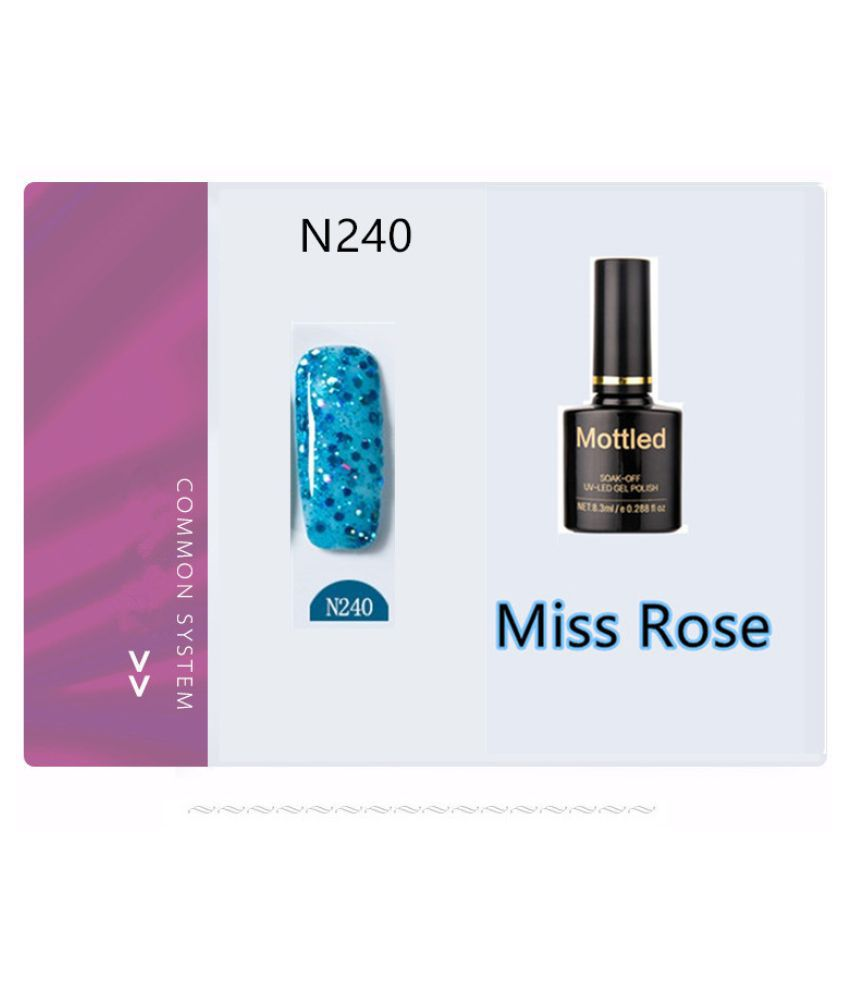 Miss Rose Nail Polish N240 As Picure Glossy 35g gm