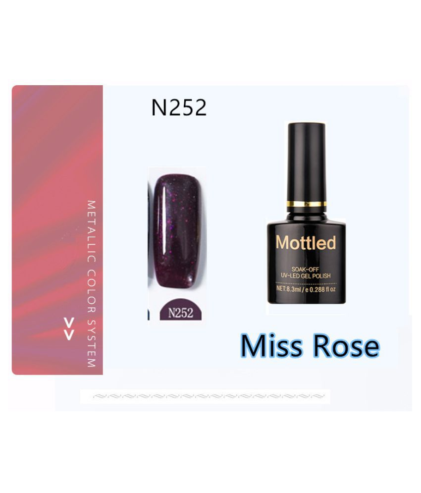 Miss Rose Nail Polish N252 As Picure Glossy 35g gm