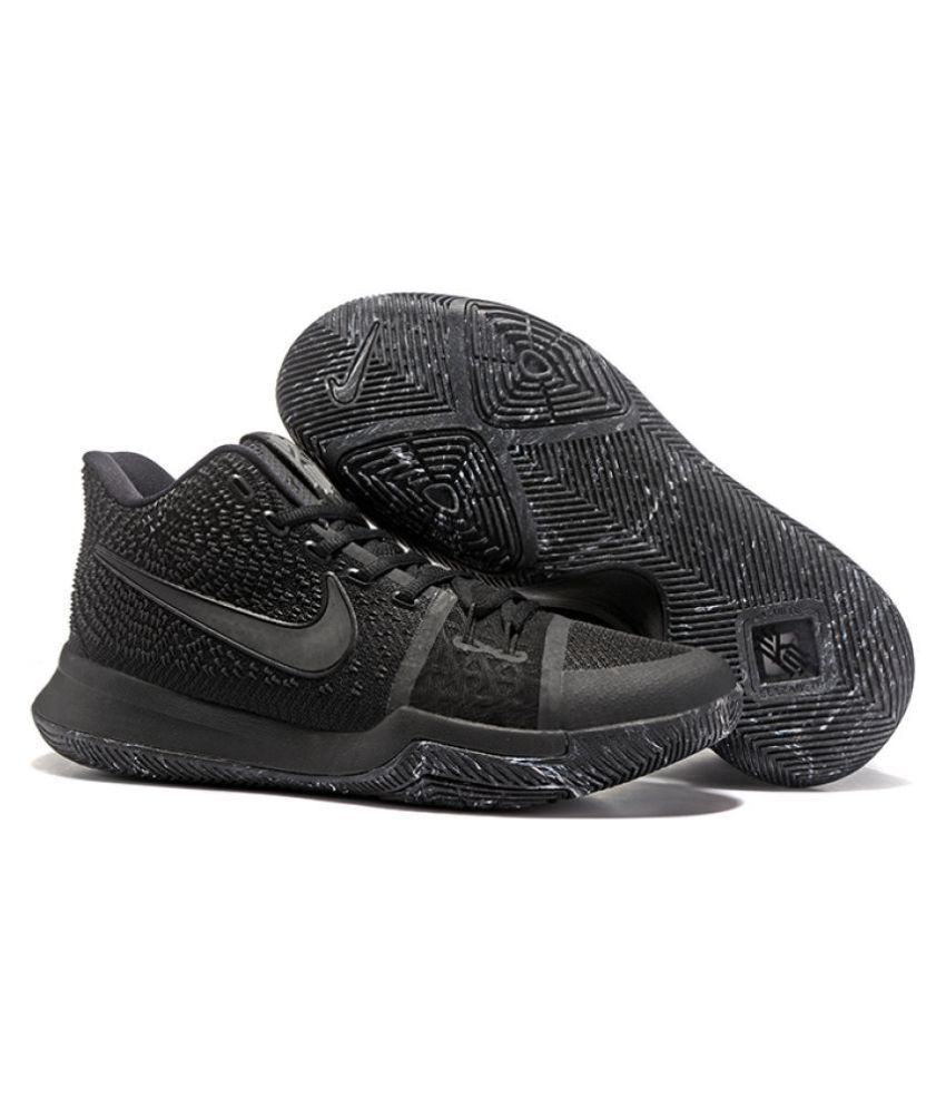 1f2783014ac3 Nike Black Basketball Shoes - Buy Nike Black Basketball Shoes Online at  Best Prices in India on Snapdeal
