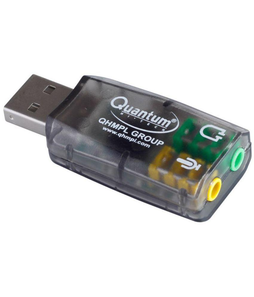 Quantum QHM 623 3D Virtual 5.1 USB Sound Card