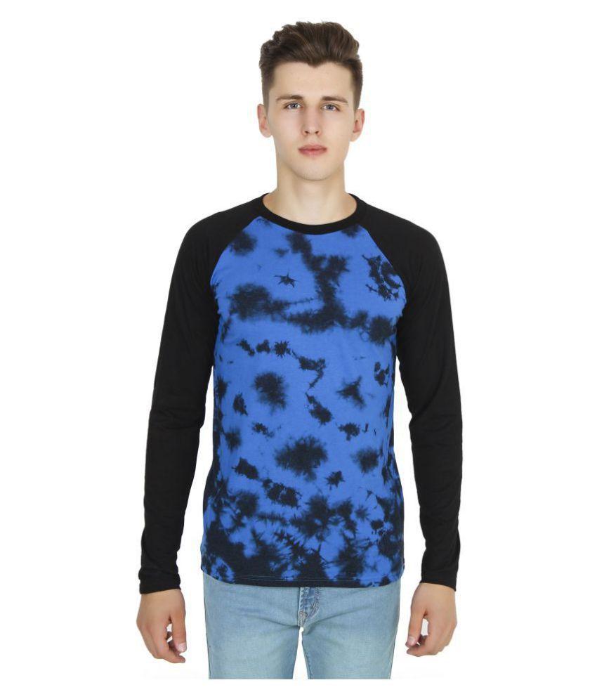Five-Stones Blue Full Sleeve T-Shirt