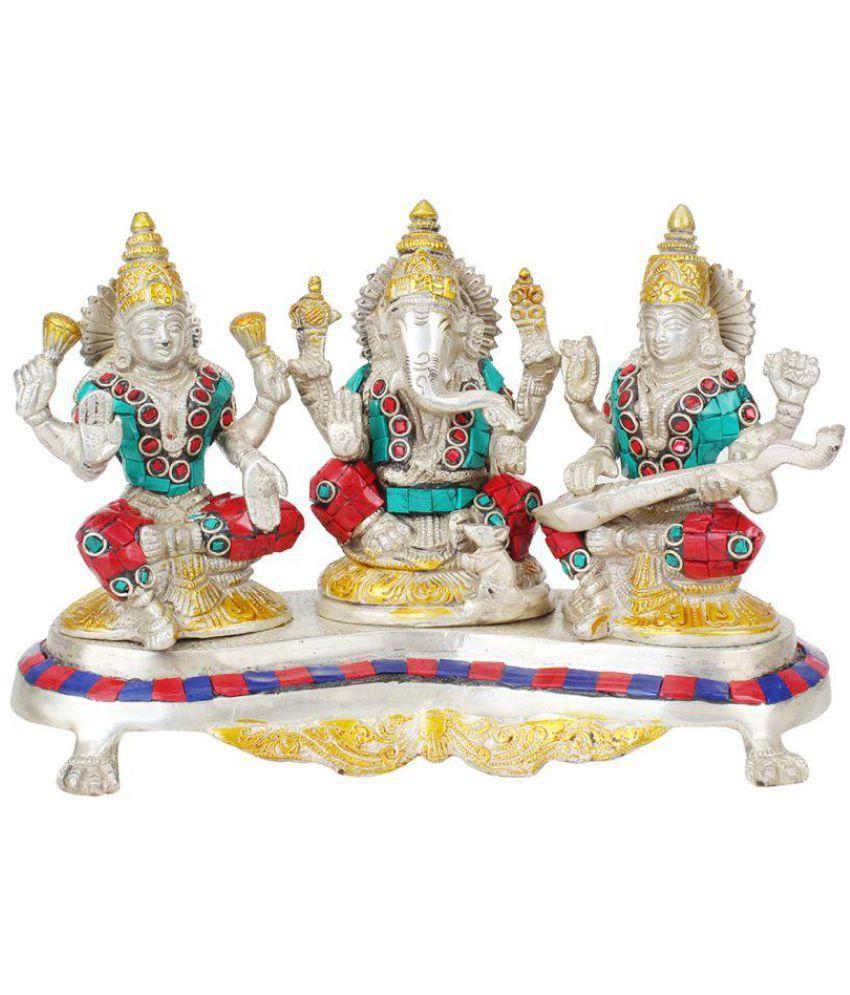 Kartique Ganesha Brass Idol