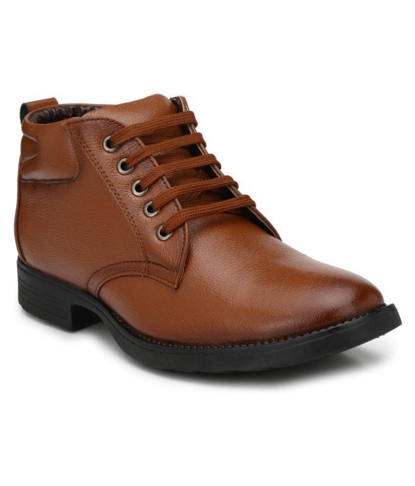 Mactree Tan Casual Boot