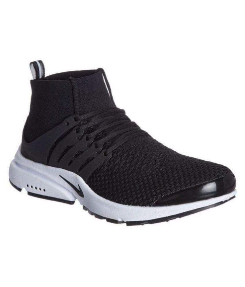 new arrival f884c 0c6b8 Nike Air Presto Ultra Flyknit Black Running Shoes