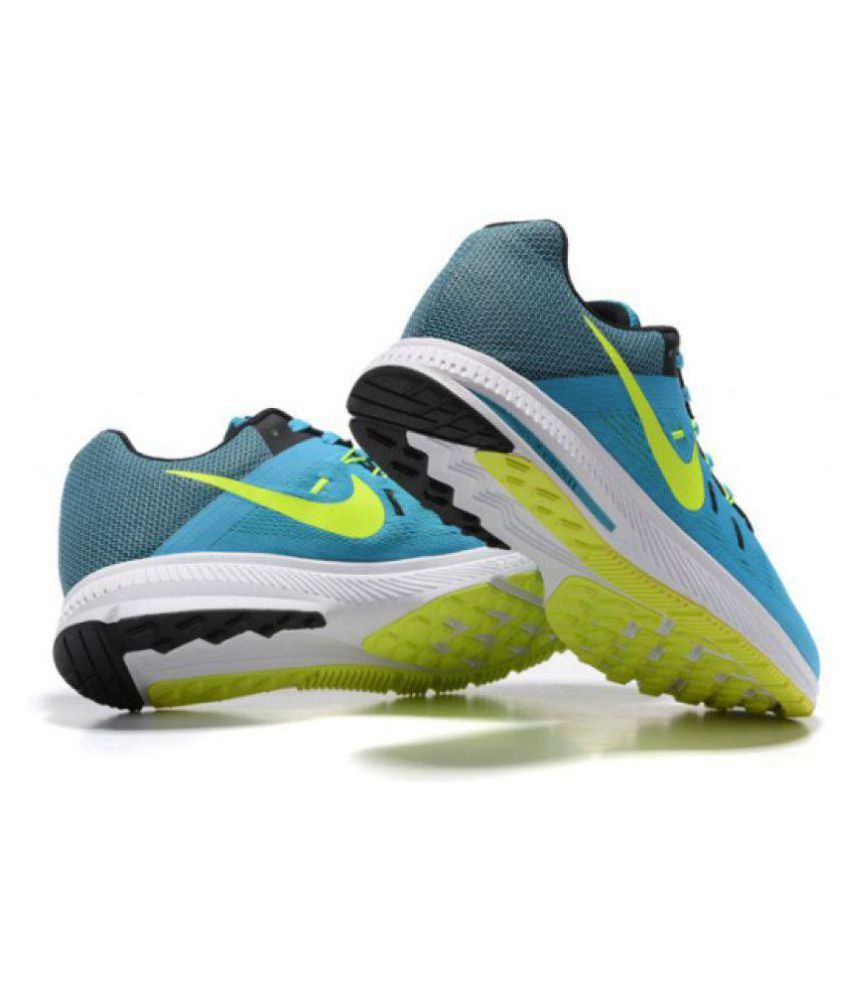 pretty nice a6042 2ac78 ... uk nike zoom winflo 2 blue running shoes 5b794 30820 ...