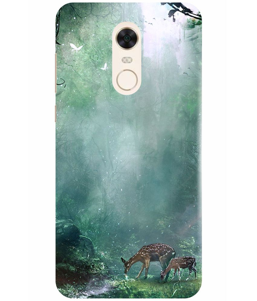 Xiaomi Redmi 5 Plus 3D Back Covers By VINAYAK GRAPHIC The back designs are totally customized designs