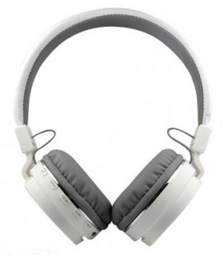 Avika y31L compatible Wireless Bluetooth Headphone White