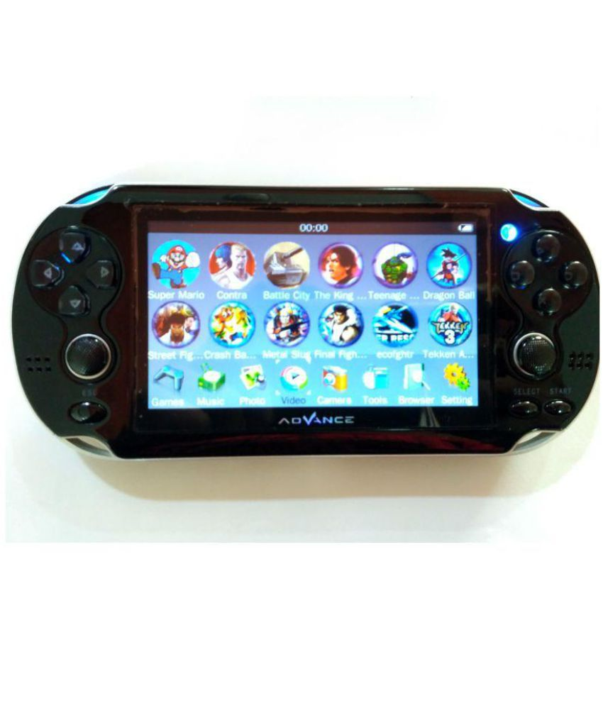 GIGAGLITZ PSP 4GB Handheld Console ( Yes ) 1.3 mp camera for photo & video