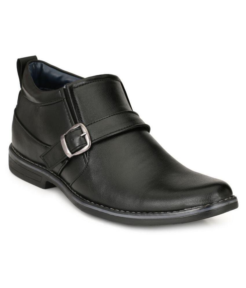 Leeport Black Party Boot